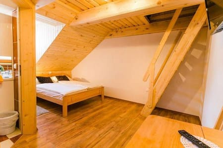 Private rooms right next to the ski slopes Krvavec