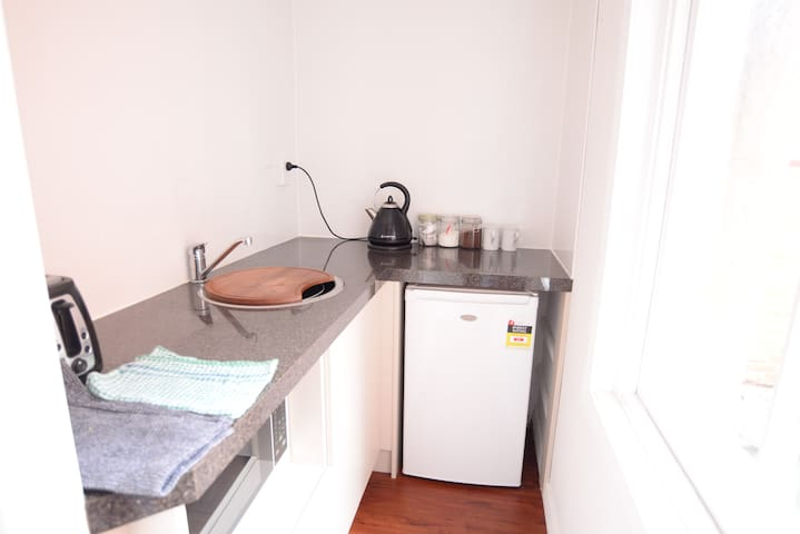 Apt 7 - Garden View of city[15 mins walk to city] - Dunedin - Daire