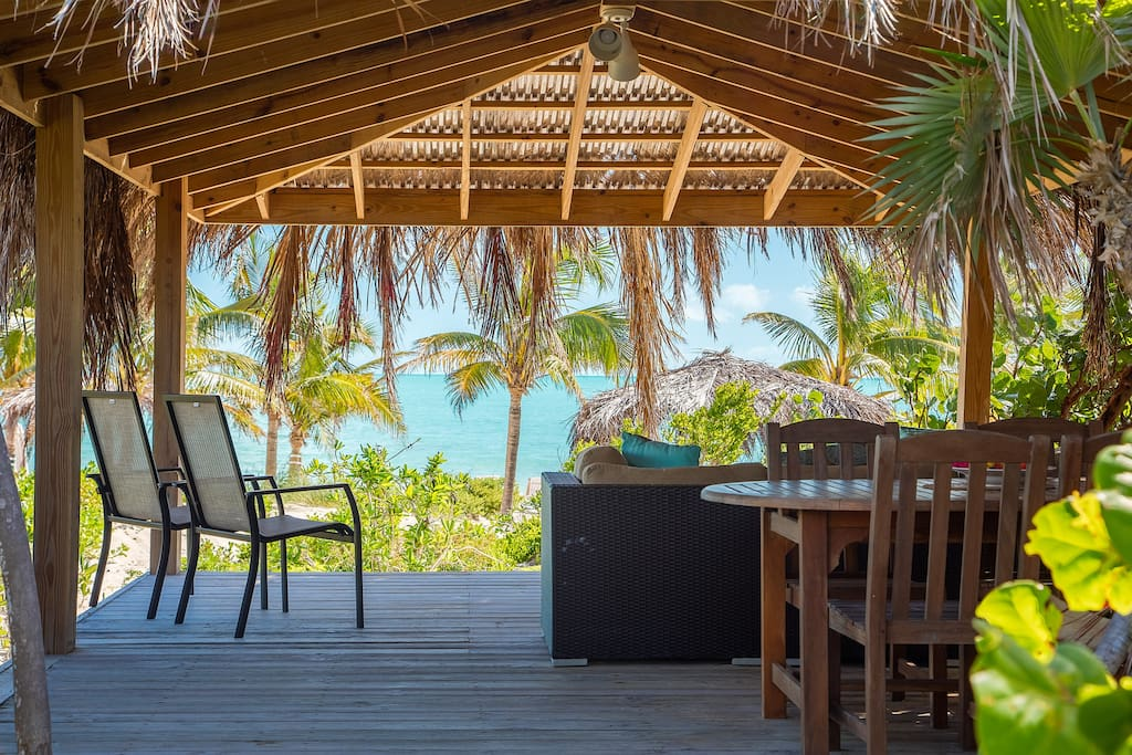 Your own private Tiki Hut on the beach