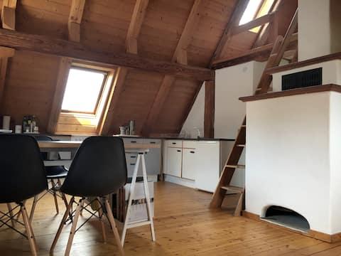 Gemütliches Maisonette-Studio in alter Scheune