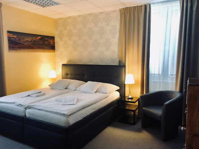 A2: Double room in a quiet part of Bratislava