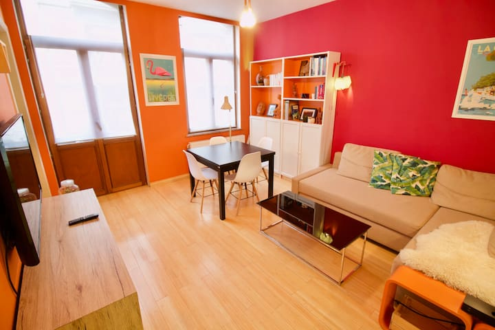 ★ Superb 1BDR Apartment - Heart of Saint-Gilles ★