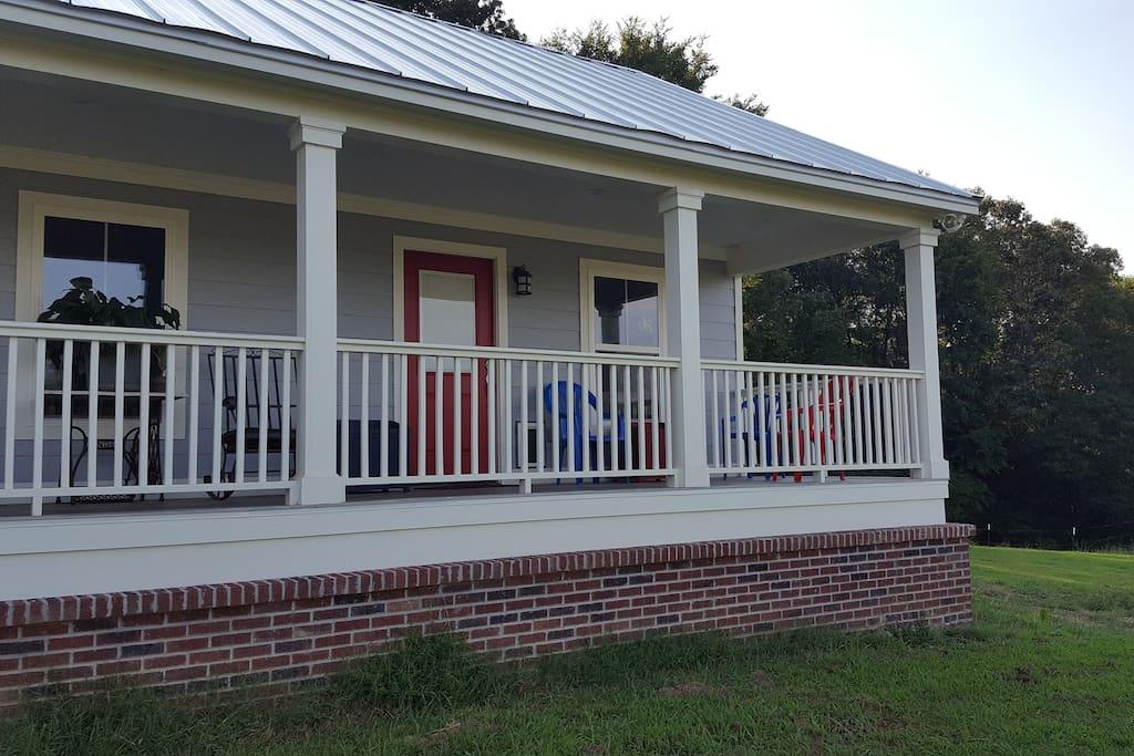 Porch for you to enjoy.
