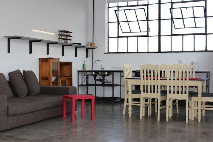 Revolution House Loft in Maboneng - Johannesburg - Appartamento