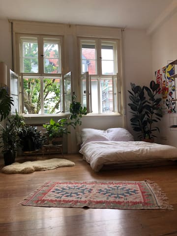Cozy bright room with your own toilet in OFFENBACH