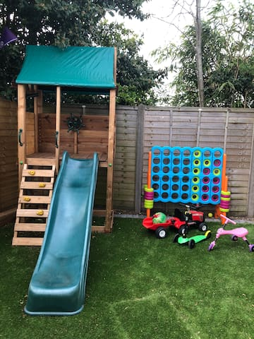 Gated play area