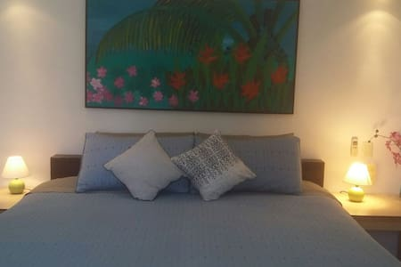 Apt 6 Casa Tranquila 5 min walk to sea & downtown - Cozumel