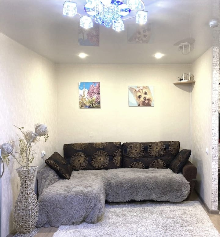 Просторная, светлая, уютная, двухкомнатн. квартира
