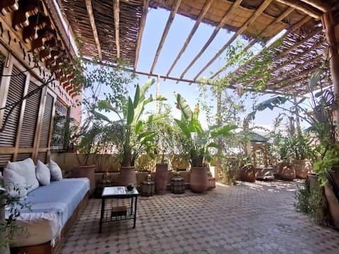Amazing Penthouse***** Room (2pers) Guéliz Rooftop