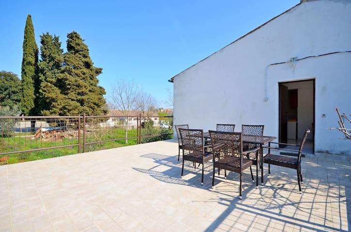 Appartement, avec une chambre à coucher, à Rovinj, La terrasse