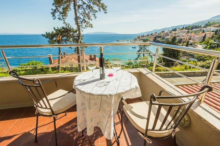 Villa Dinka-wonderful sea view - Opatija - Apartament