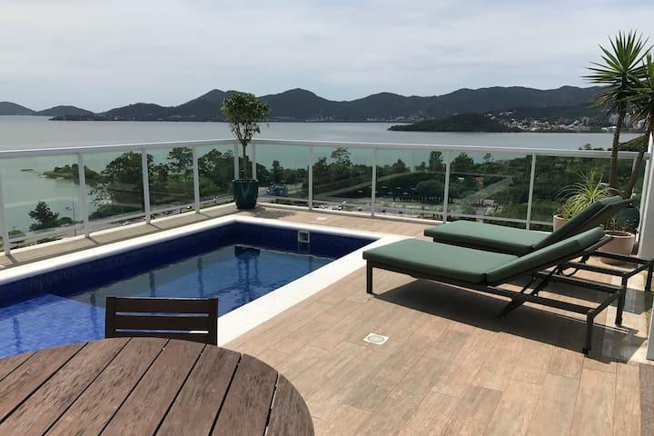 Linda Cobertura Beira Mar Norte - Florianópolis - Apartment