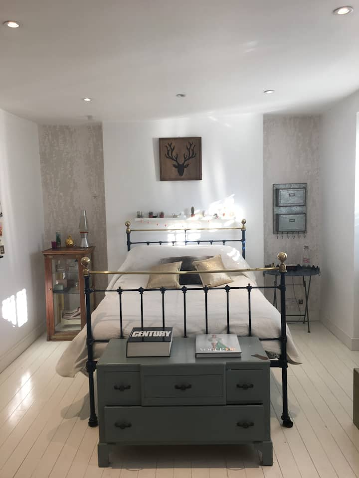Spacious airy garden flat in the heart of Clifton.