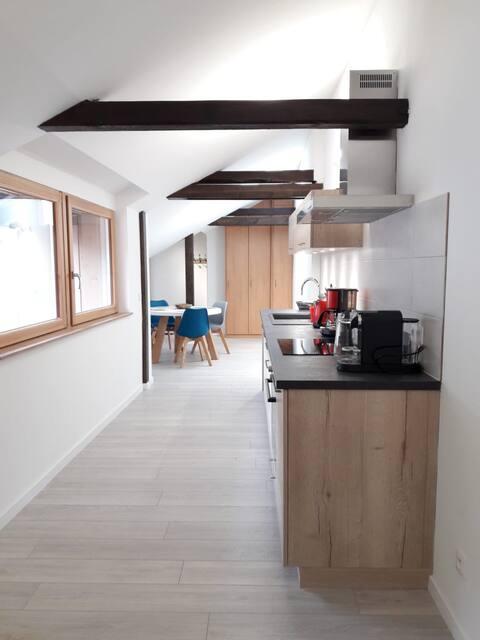 Appartement moderne au centre de Neuf-Brisach