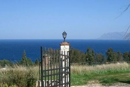 Villa Scopello fantastic sea view