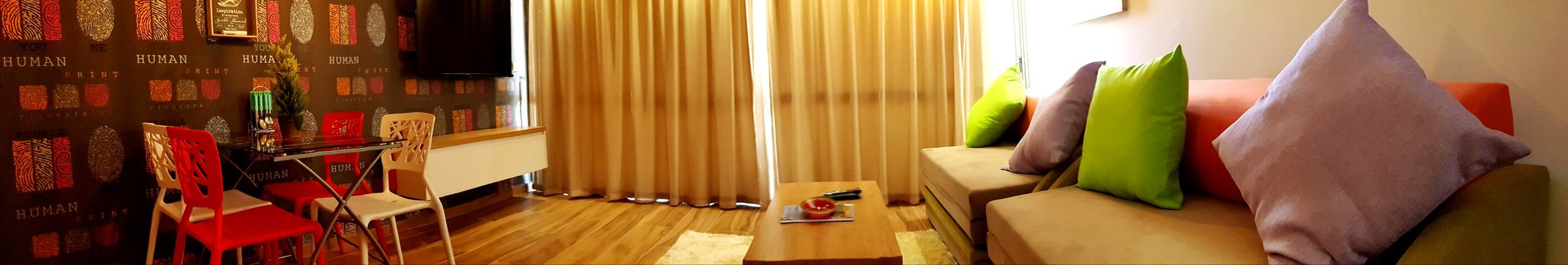 Luxury Apartment Living Room - City Apartments