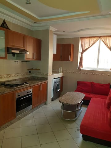 Nice furnished apartment 3 rooms for families only