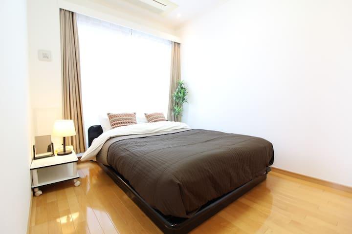 Free Pocket Wi-Fi★SHIBUYA★7min/3beds/6ppl★ - Shibuya-ku - Apartment