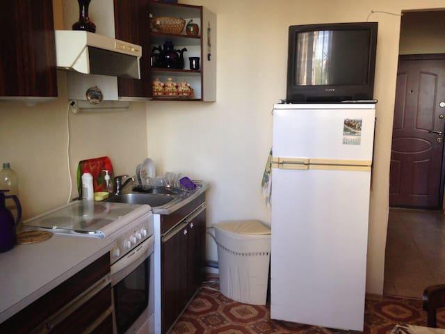 Уютная квартира в тихом районе - Novoye Devyatkino - Apartment