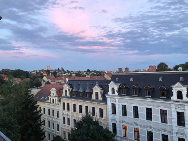 Altstadtflair mit gigantischem Blick über Görlitz