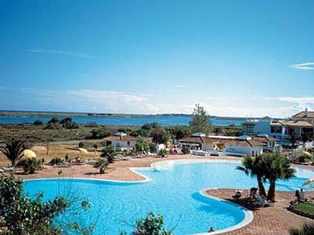 Golden Club Cabanas Tavira c piscinas T1+1 - Cabanas de Tavira - อพาร์ทเมนท์