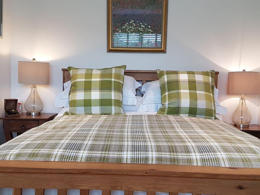 Sumptuous comfy bed