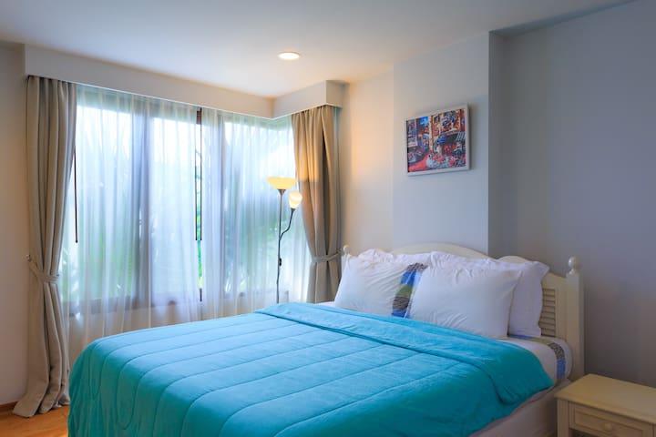 2Bedroom Apartment w PoolView#BaanSansuk Condo-BDC - Tambon Nong Kae - Apartament