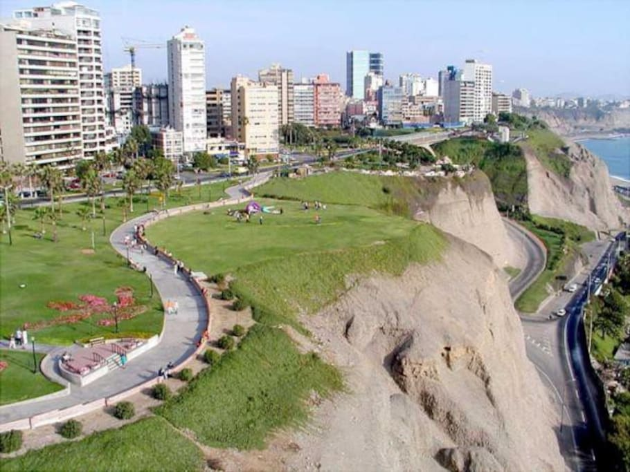 "From the apartment, go 3 block and you will be on the lovely ""Malecon"" boardwalk that runs along the ocean."