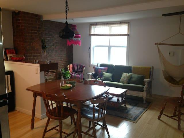 Chambre privée chaleureuse  dans St-Roch! - Ville de Québec - Apartamento