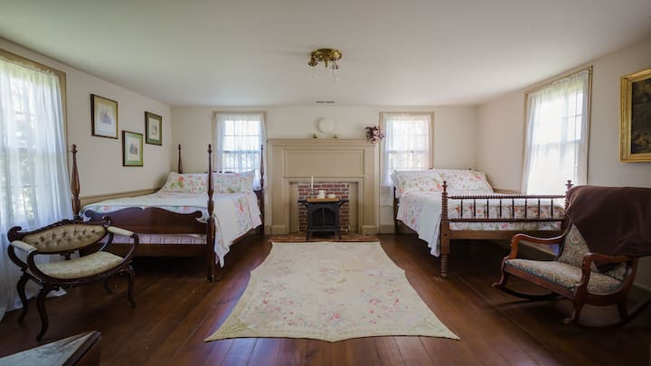 North Suite at the Pruitt House Inn