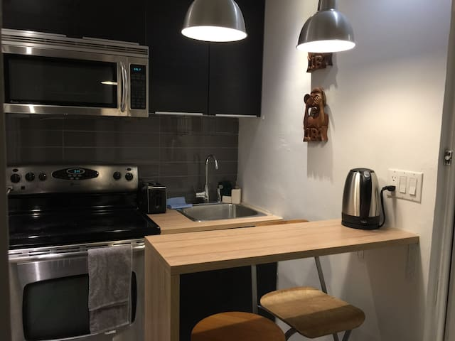 1BR apartment in heart of the city, McGill Ghetto - Montréal - Wohnung