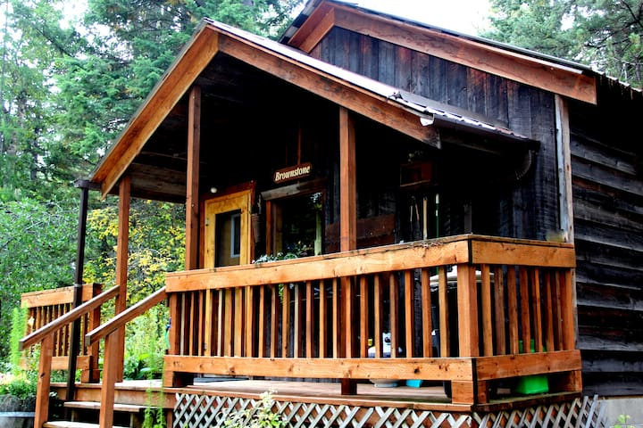 Brownstone Cabin - Martin City - Cabane