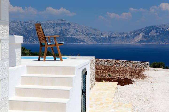 Robinson Villa Zavala-Povlja-Brac-Stunning SeaView