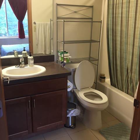 Master bedroom no. 1's bathroom
