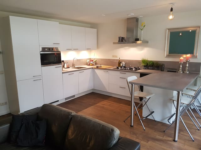Great appartment with garden in Amsterdam-East