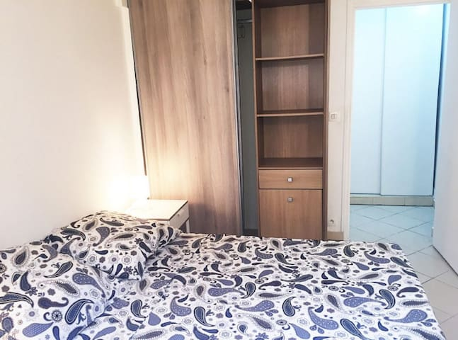 2 beds room flat cozy at only 20min to Paris - Bobigny - Byt