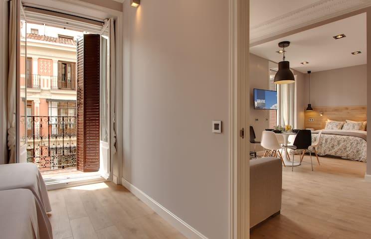 Apartamento de 1 dormitorio con balcón (3-5 pax)