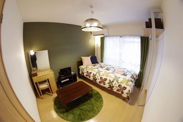 8mins Kyoto st. & NEAR BUS TERMINAL , PRIVATE  #23
