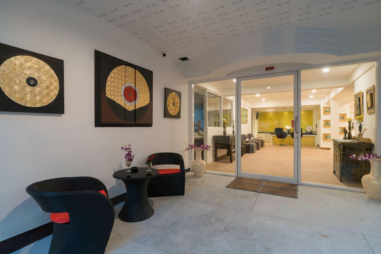 🌴Φ B DBL Room with balcony good atmosphere pool Φ