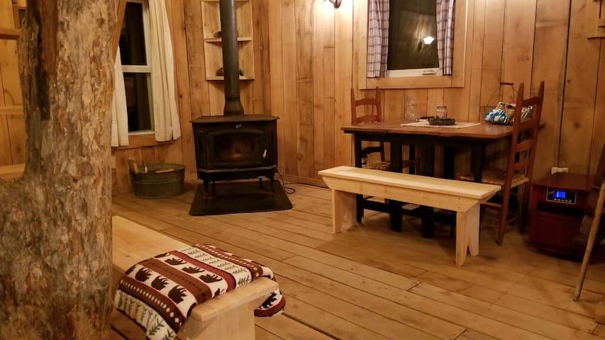 Cozy dining area