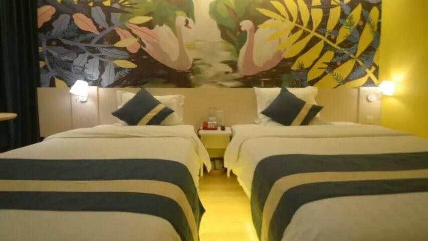 竹林双床房14
