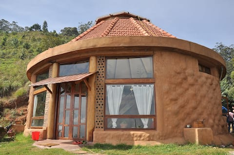 Earthship Karuna: Breathtaking Off Grid Eco Home