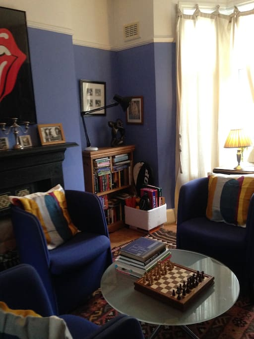 Living Room 1 - the Bay window to the right is the front of the house