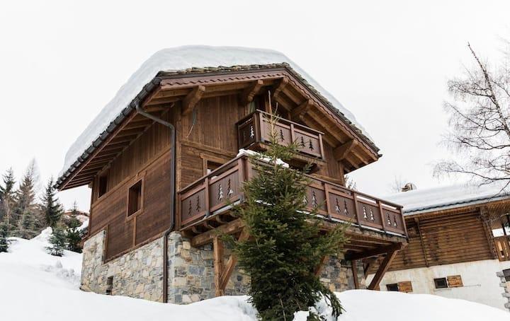 Chalet entier Courchevel sauna vue panoramique