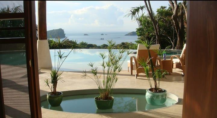 Luxury Ocean View Villa 5 Suites Private Pool