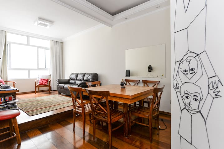 Suite acogedora en Pinheiros