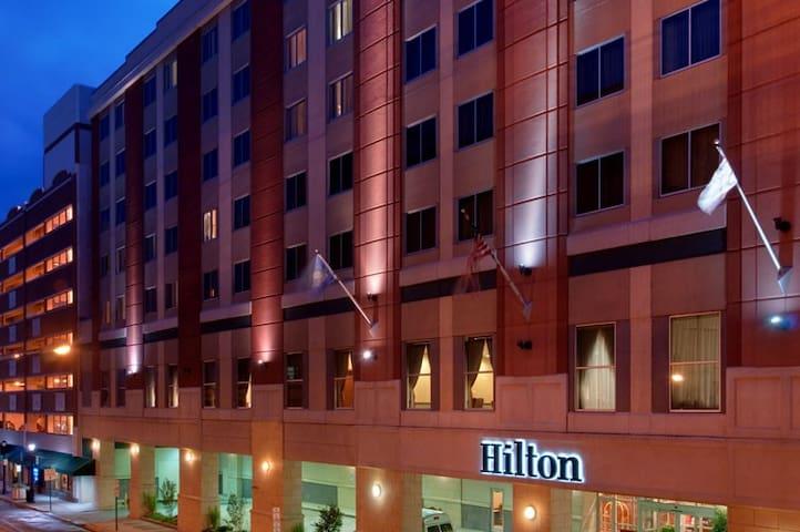 Hilton Scranton # 1 Trip Advisor 11 years