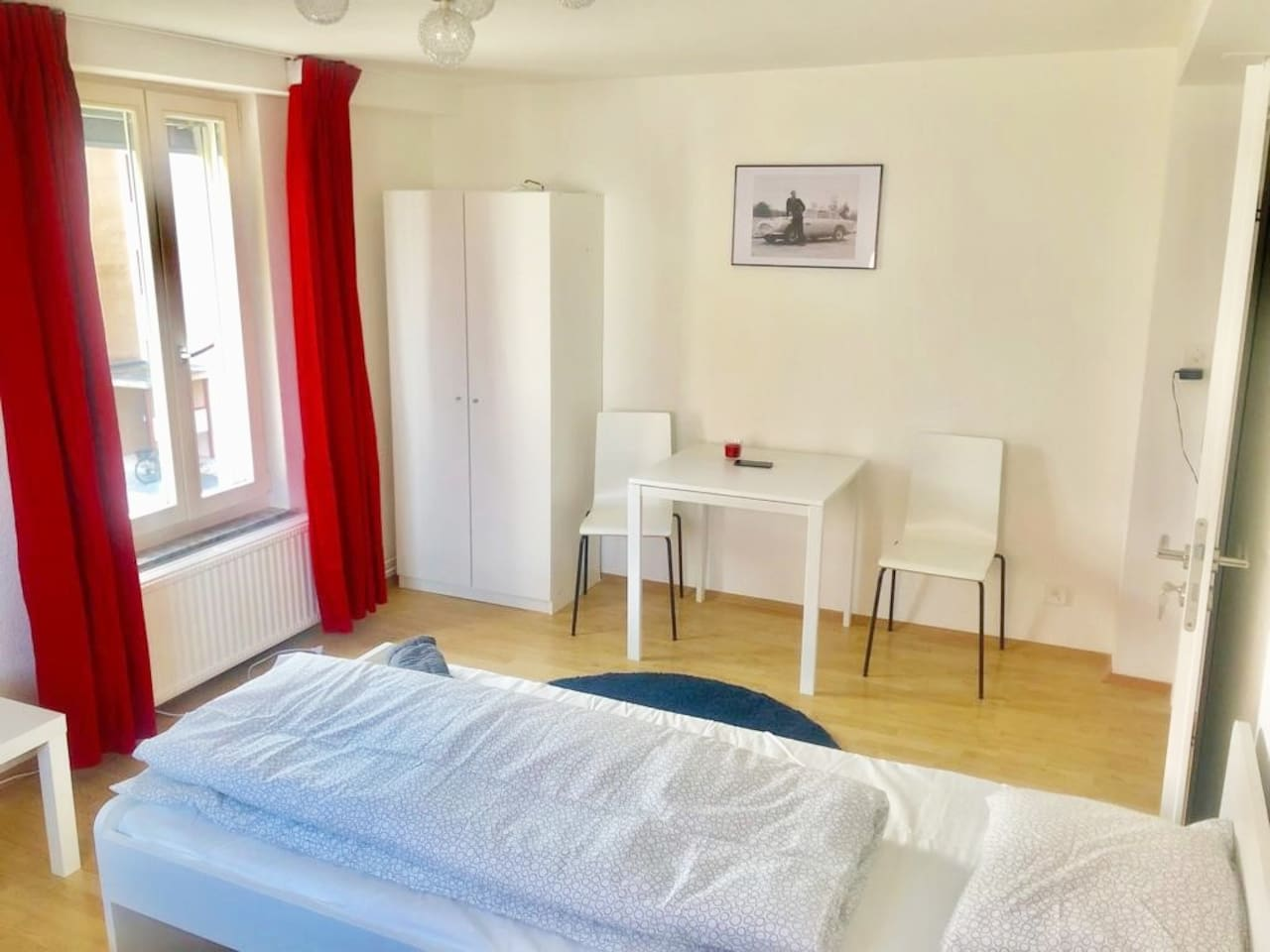 clean bright double room