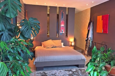Belle suite parentale 30m2 - Saint-Étienne - Bed & Breakfast