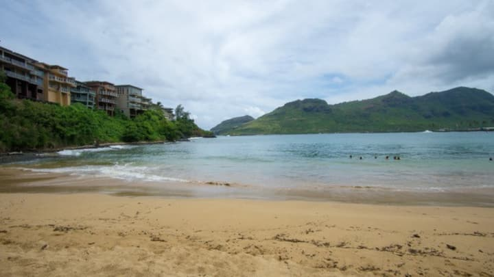 Kauai condo near beaches and shops.